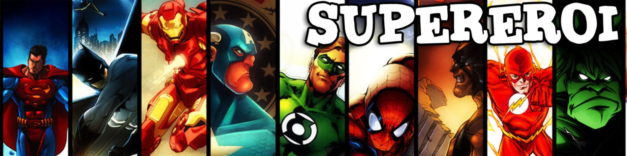 festa a tema super eroi