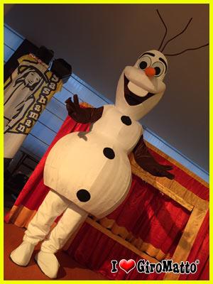 costume di Olaf