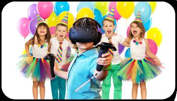 festa realtà virtuale per bambini
