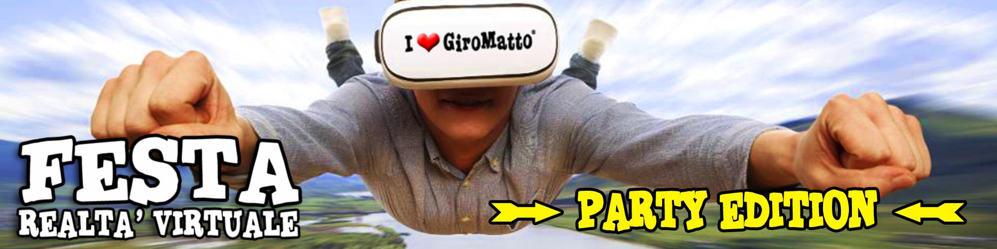 festa realtà virtuale party edition