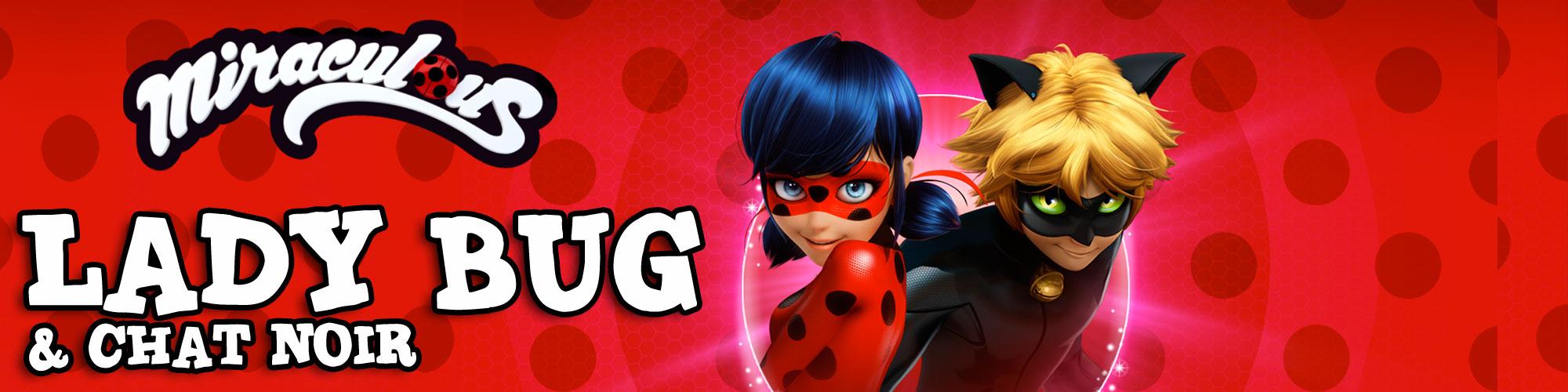 noleggio costume lady bug e chat noir